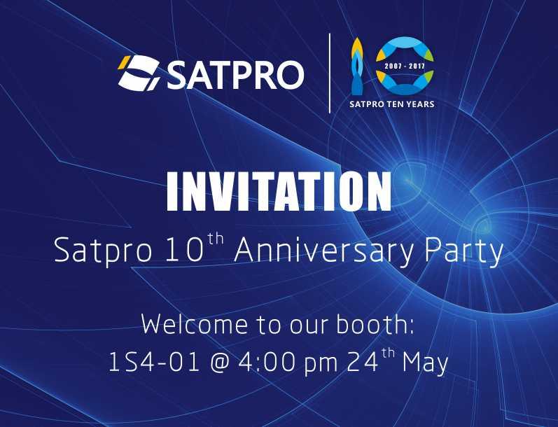 SATPRO再战狮城,十周年派对欢迎您的到来!